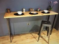 Breakfast bar table / Bistro table/ Poseur Table ...