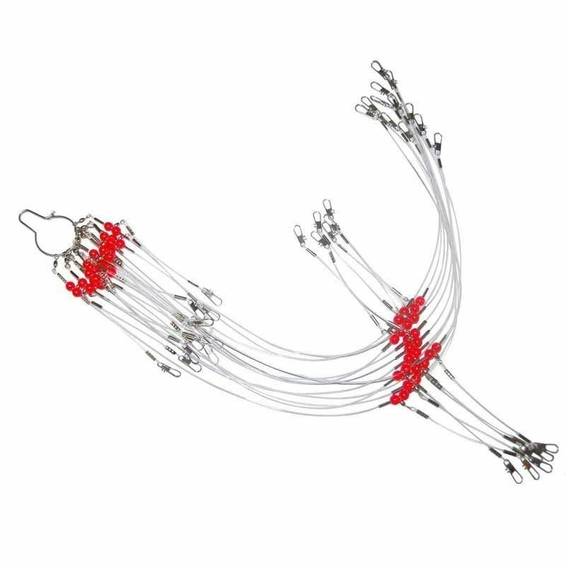 Fishing Leaders Nylon Line Fishing Wire Rigs Leaders Trace
