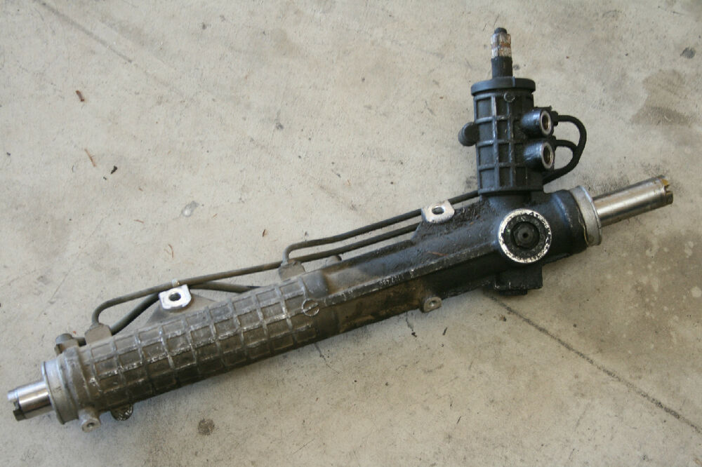 Bmw 318 325 E30 Power Steering Rack And Pinion Unit Ebay