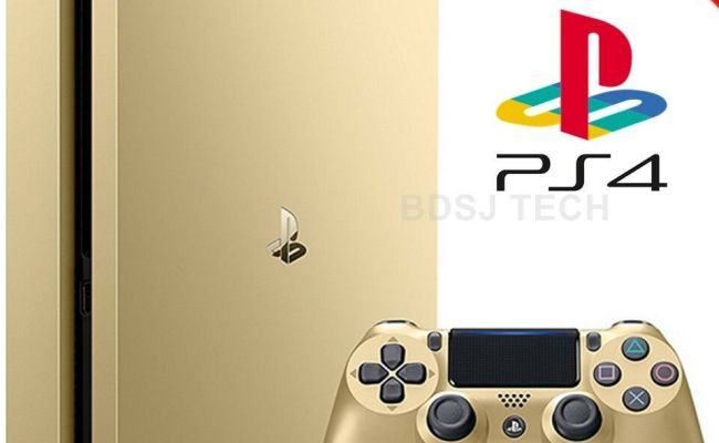 Playstation 4 Slim 1tb Console Ps4 Gold Limited