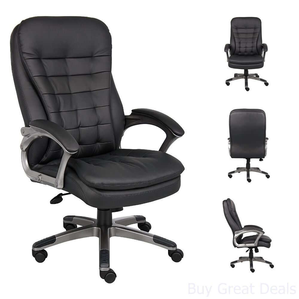 High Back Office Chair Big And Tall Executive Heavy Duty