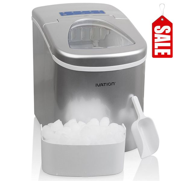 Nugget Ice Maker Portable Cube Machine Compact Counter Top