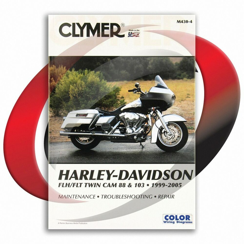 hight resolution of details about 1999 2005 harley davidson flhtcui classic electra glide repair manual clymer