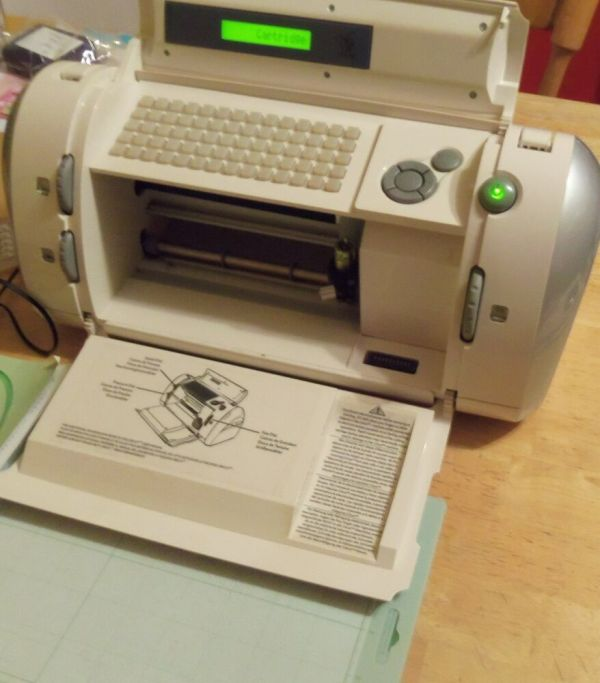 Cricut Personal Die Cutting Machine Withall Cords Manual