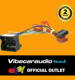details about mercedes ml slk sprinter car stereo radio wiring harness iso loom ct20mc02 [ 1000 x 1000 Pixel ]