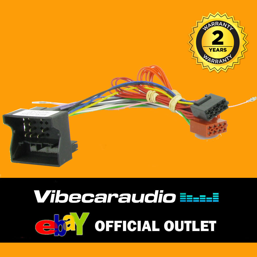 hight resolution of details about mercedes ml slk sprinter car stereo radio wiring harness iso loom ct20mc02