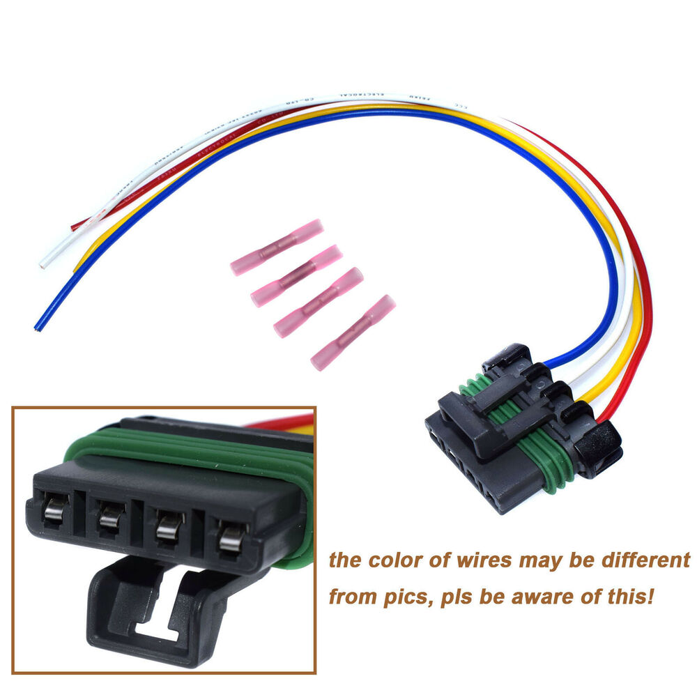 hight resolution of details about pt1231 blower motor resistor connector pigtail harness fit colorado canyon hvac