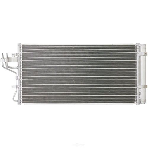 small resolution of details about a c condenser spectra 7 4066 fits 10 12 hyundai genesis coupe 2 0l l4