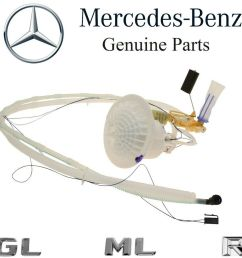 details about for mercedes x164 w164 w251 gas fuel filter w level sending unit assembly oes [ 1000 x 1000 Pixel ]