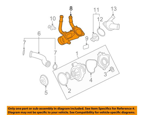 small resolution of gm oem engine coolant thermostat housing 12597172 ebay