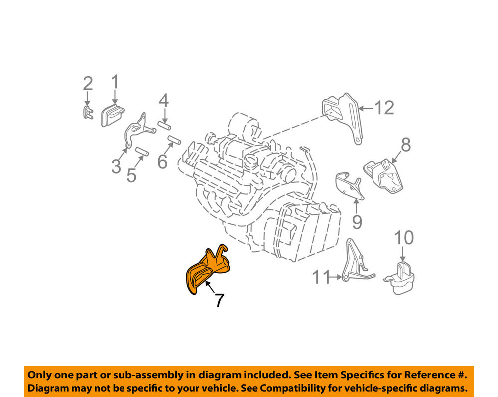 hight resolution of details about buick gm oem 97 98 park avenue engine motor mount front 22201112