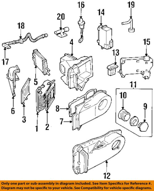 small resolution of details about gm oem hvac heater core 22784517