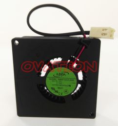 details about for adda ab5512hx g00 12v blower fan server cooling fan 5 5cm 2 wire [ 1000 x 1000 Pixel ]