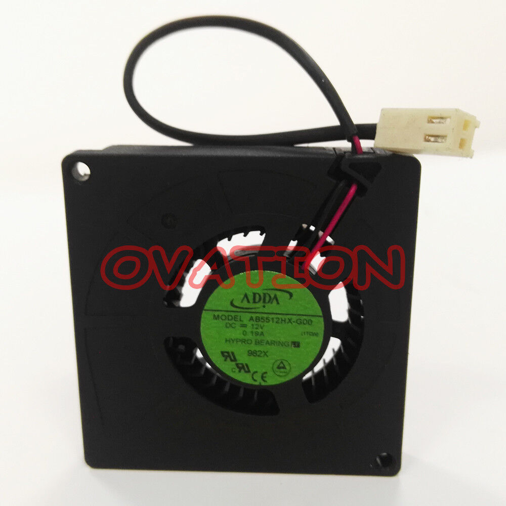 hight resolution of details about for adda ab5512hx g00 12v blower fan server cooling fan 5 5cm 2 wire
