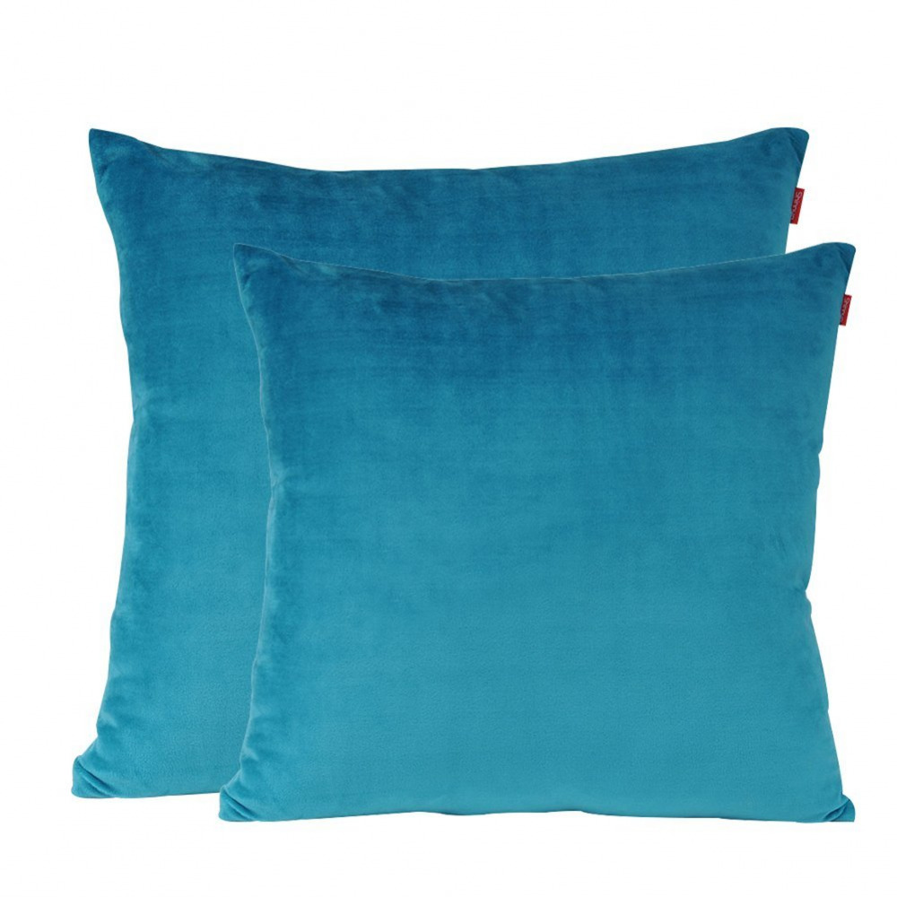 Super Soft Decorative Throw Pillow Case Solid Cushion
