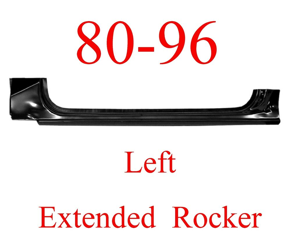 hight resolution of details about 80 96 left ford extended rocker panel truck bronco f150 f250 f350 oem type