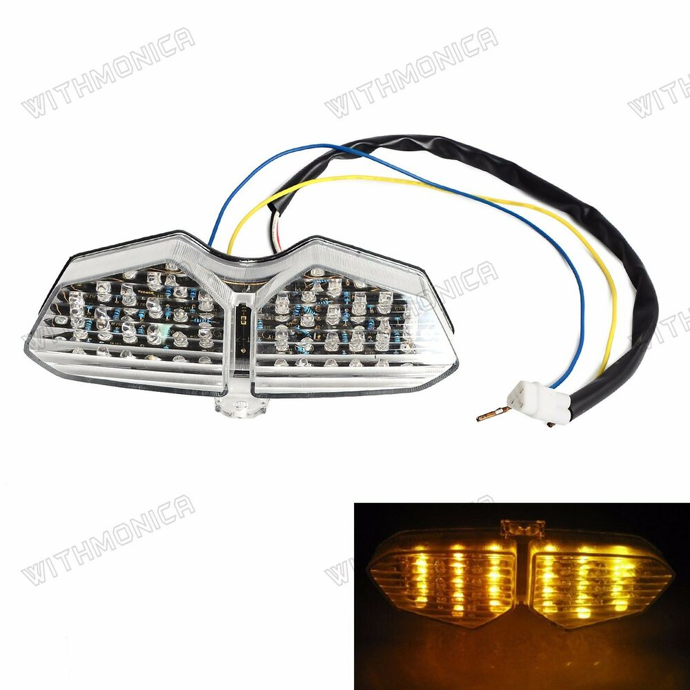 hight resolution of details about tail light for yamaha yzf r6 2003 2005 r6s 2006 2008 led integrated turn brake