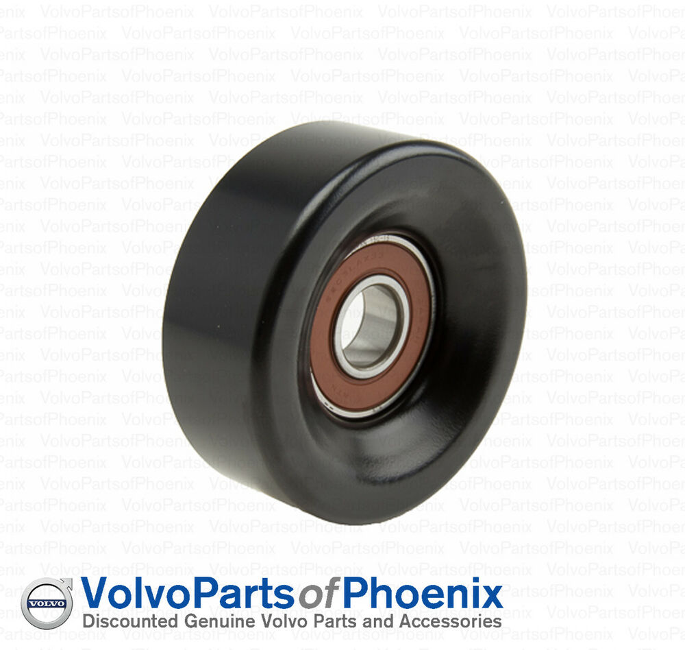 hight resolution of details about genuine volvo 2007 2011 s80 xc90 4 4 v8 drive belt idler pulley 31216198