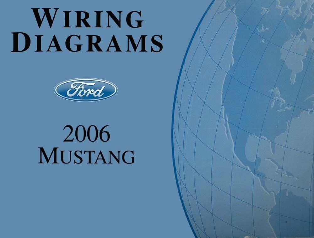 1999 Mustang Color Wiring Diagram