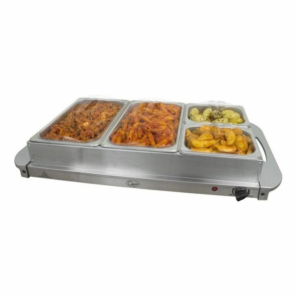 Buffet Warmer Food Server 300w Stainless Steel Pan Large