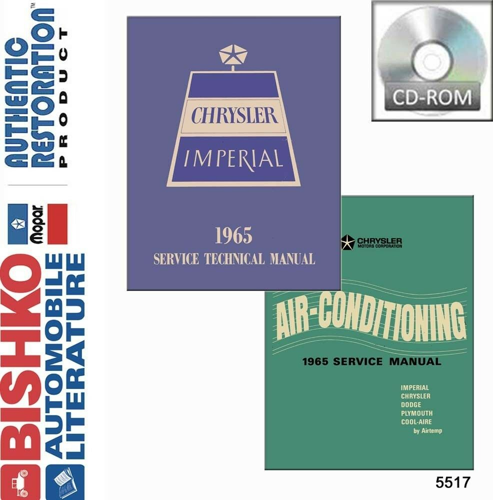 hight resolution of details about 1965 chrysler imperial shop service repair manual cd engine drivetrain wiring