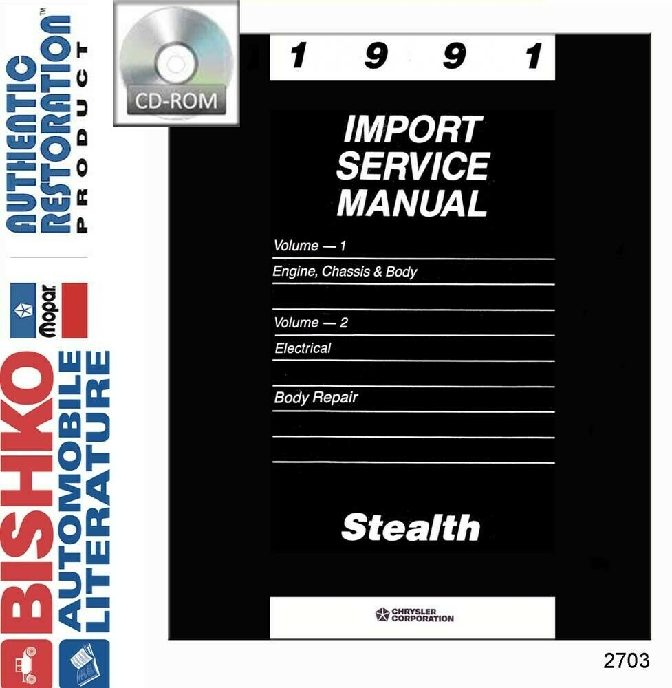 hight resolution of details about 1991 dodge stealth repair shop service repair manual cd engine drivetrain wiring