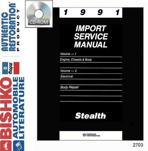 small resolution of details about 1991 dodge stealth repair shop service repair manual cd engine drivetrain wiring