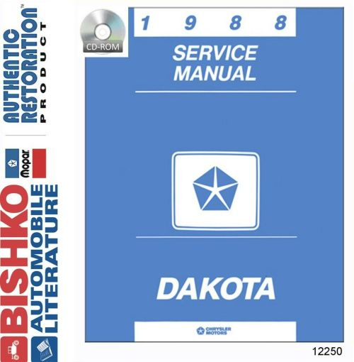 small resolution of details about 1988 dodge dakota truck shop service repair manual cd engine drivetrain wiring