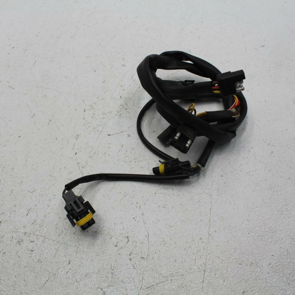 hight resolution of details about 060 1999 arctic cat zr 600 headlight hood gauge wiring harness wire loom