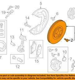 details about volvo oem 16 17 xc90 front brake disc rotor 31471752 [ 1000 x 798 Pixel ]