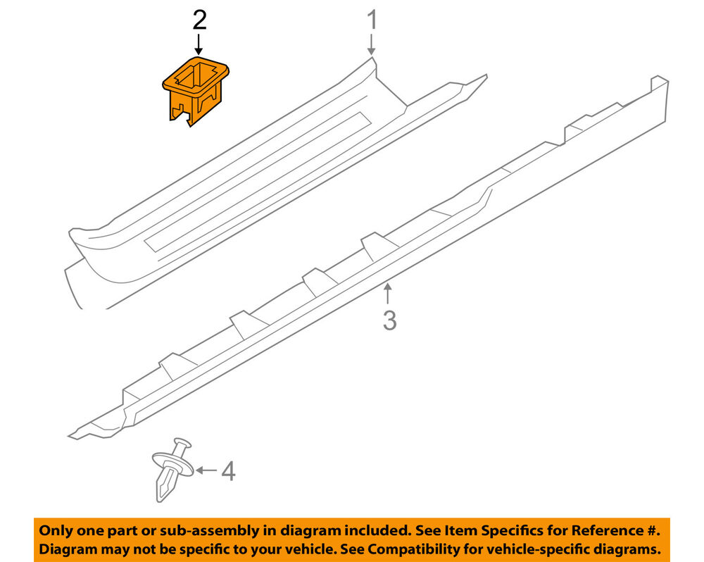 hight resolution of details about volvo oem 06 13 c70 exterior rocker molding left 39809507