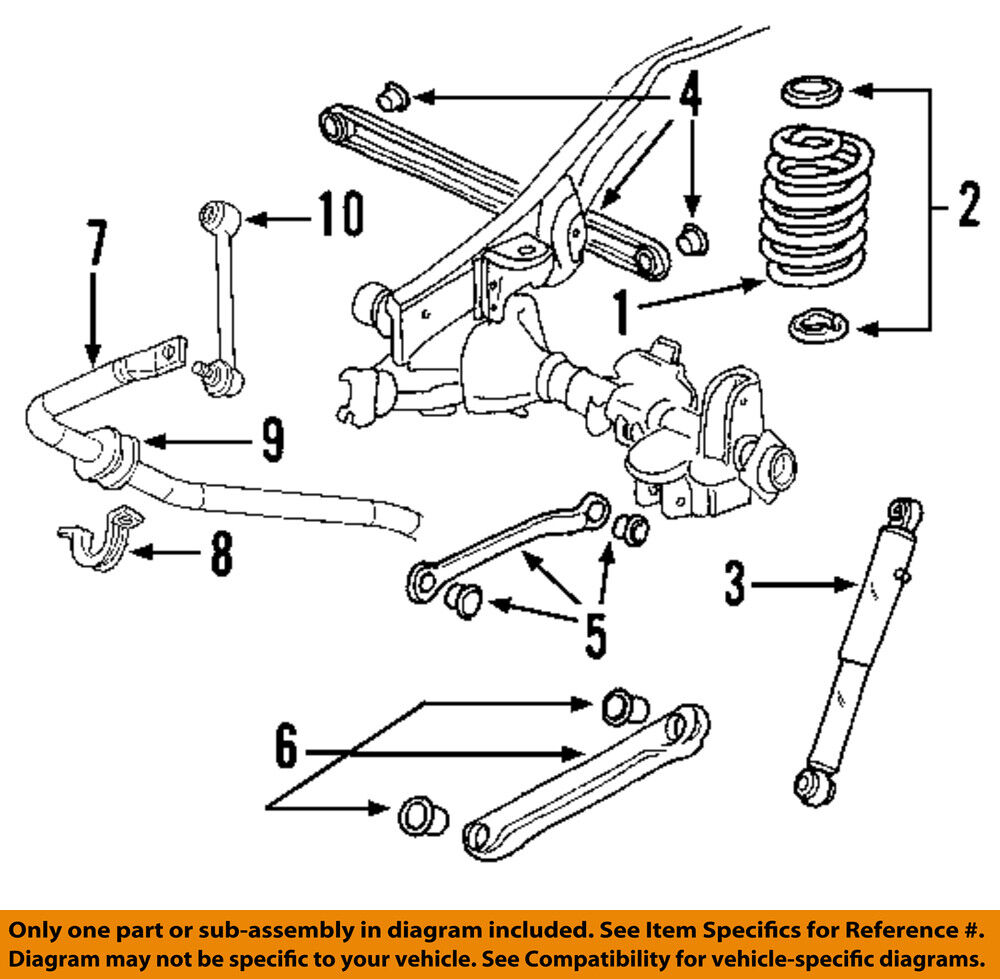 medium resolution of chevy trailblazer rear suspension diagram on suspension strut chevy impala rear suspension diagram chevy rear suspension diagram