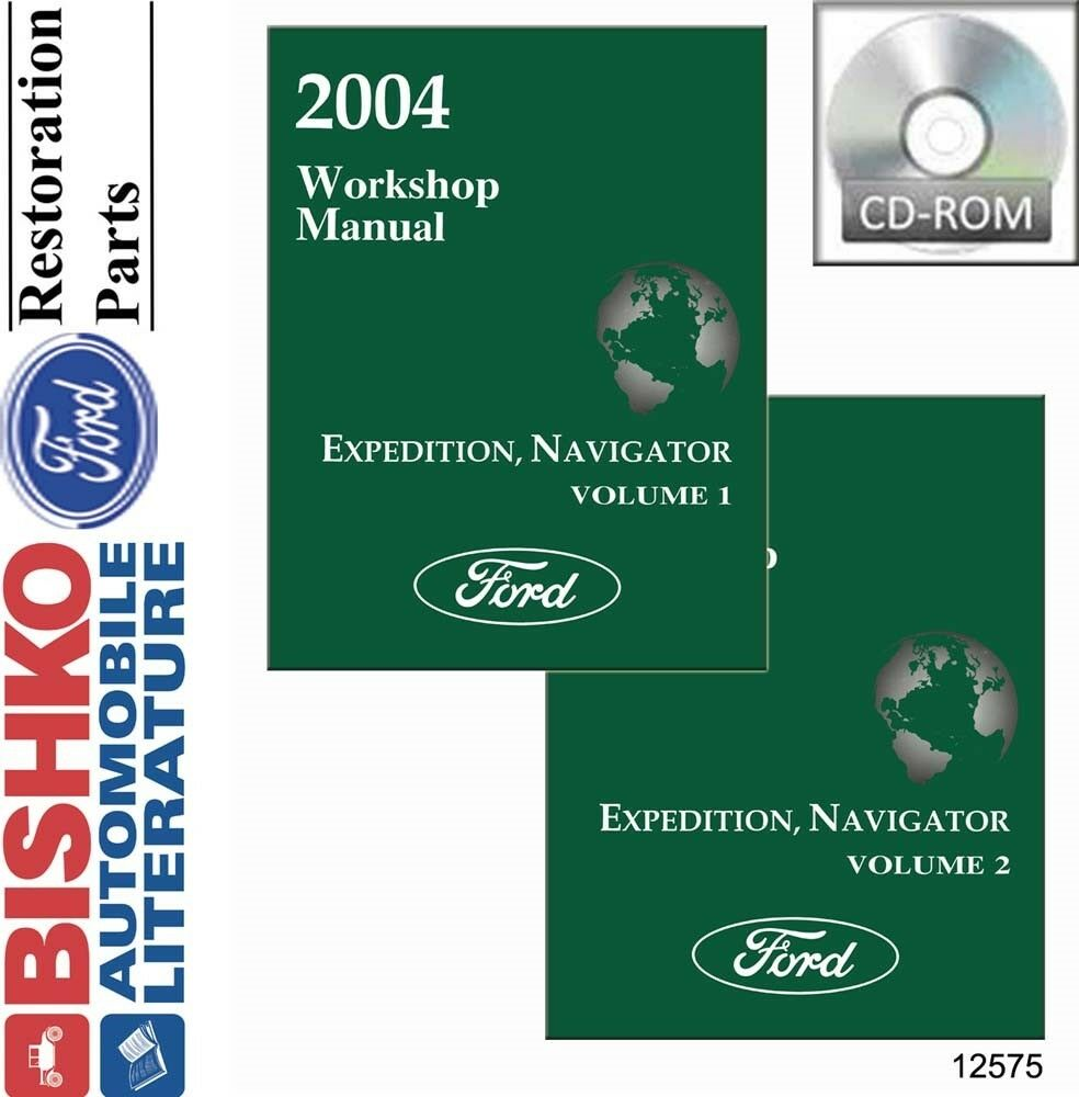 hight resolution of details about 2004 ford expedition lincoln navigator shop service repair manual cd engine oem