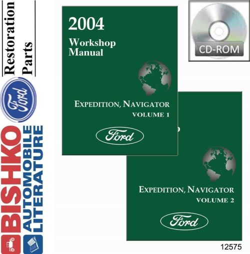 small resolution of details about 2004 ford expedition lincoln navigator shop service repair manual cd engine oem