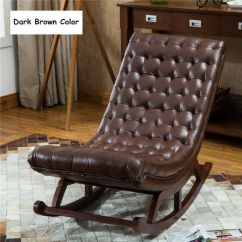 Wood Rocking Chair Styles Regency Dining Chairs Mahogany Luxury Modern Leather French Style Cushioned Wooden Lounge Details About