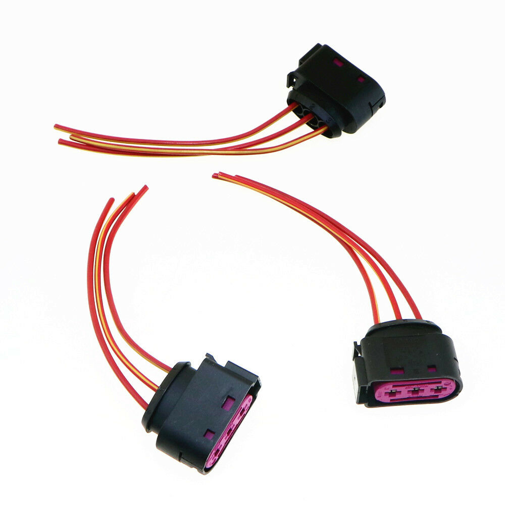 hight resolution of details about qty 3 original fuse box cable harness plug for audi a3 s3 vw golf 4 1j0 937 773