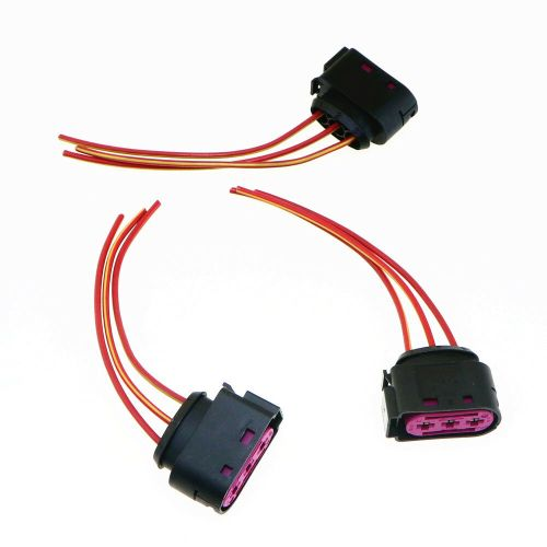 small resolution of details about qty 3 original fuse box cable harness plug for audi a3 s3 vw golf 4 1j0 937 773