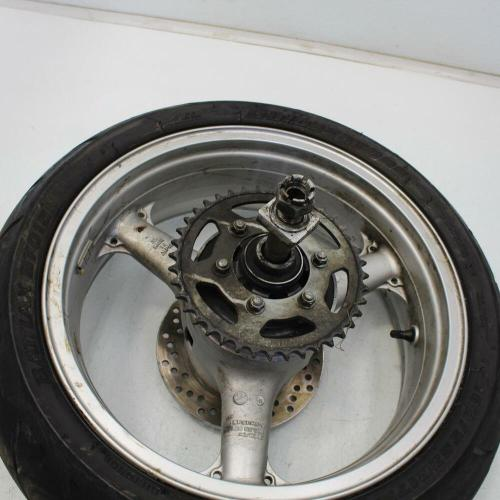 small resolution of details about 122 2005 kawasaki zzr600 rear wheel back rim w tire 180 55zr17