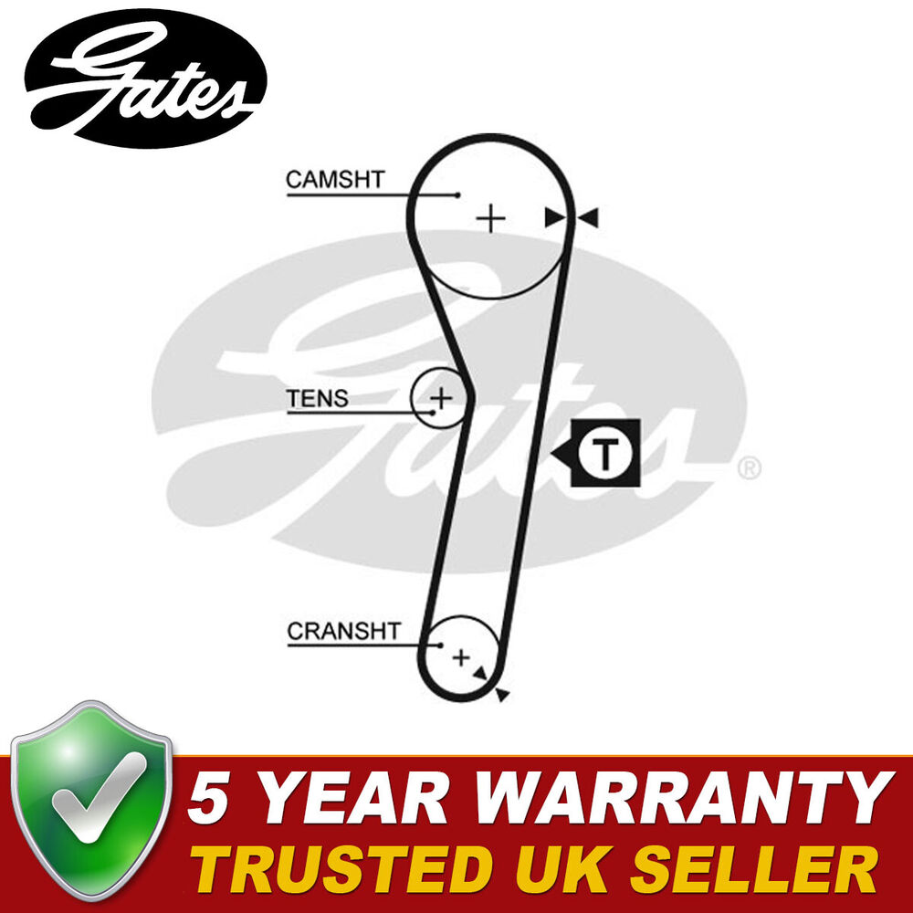 hight resolution of details about gates timing cam belt for daihatsu charade hijet terios piaggio porter 5263xs