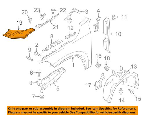 small resolution of details about volvo oem 17 18 s90 fender front trim left 31386868