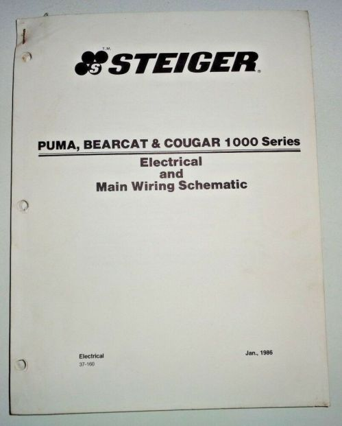 small resolution of steiger puma bearcat cougar 1000 series tractor main wiring ford 4600 wiring schematic steiger