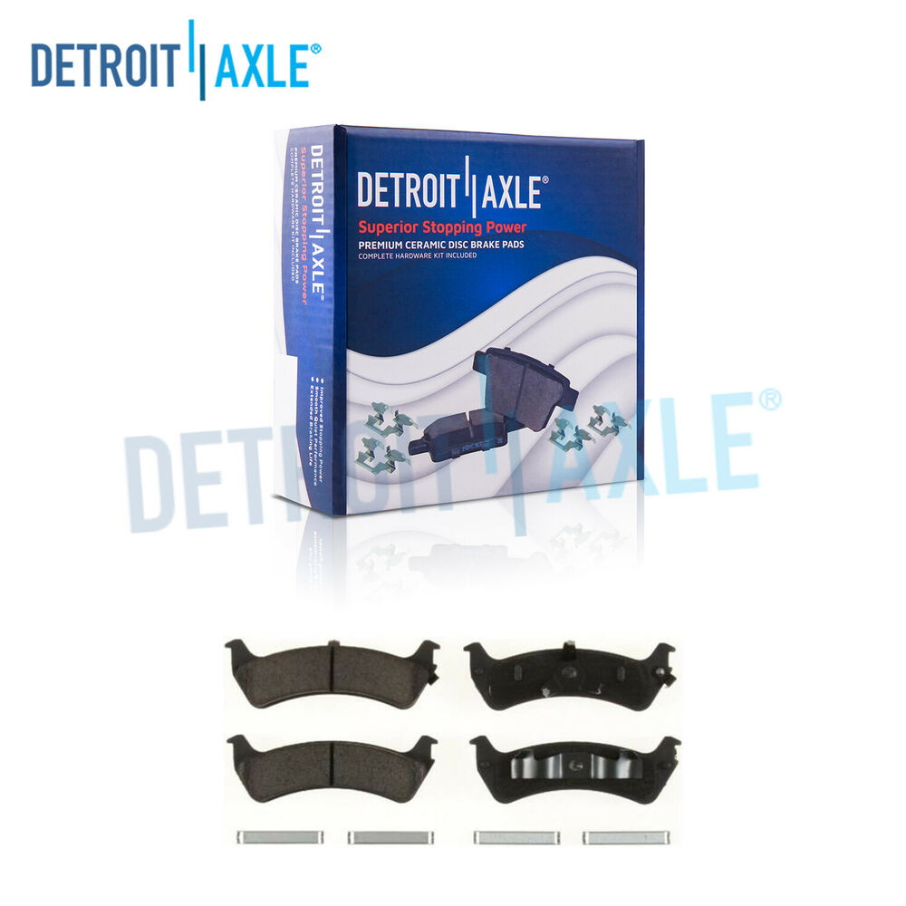 hight resolution of details about rear ceramic brake pads w clips for ford explorer ranger mercury mountaineer