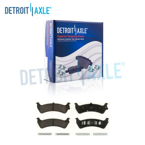 small resolution of details about rear ceramic brake pads w clips for ford explorer ranger mercury mountaineer