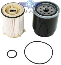 details about water separator fuel filter kit for dodge 6 7l cummins 13 18 ram 2500 3500 4500 [ 1000 x 1000 Pixel ]