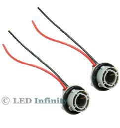 details about a pair 1156 7527 p21w car signal tail light socket wiring harness connector [ 1000 x 1000 Pixel ]