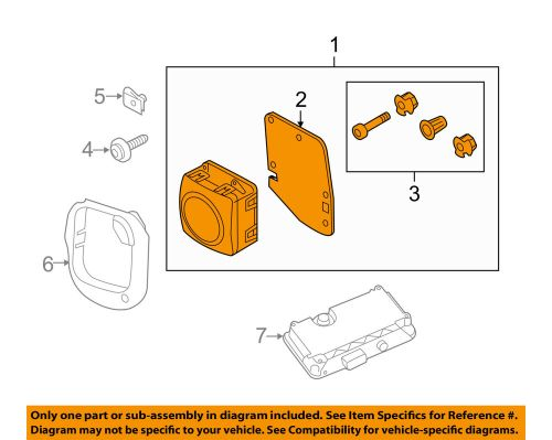 small resolution of details about audi oem 16 18 a6 quattro cruise control system distance sensor left 4g0907541b