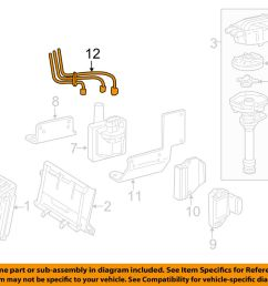 details about gm oem ignition spark plug wire or set see image 19351573 [ 1000 x 798 Pixel ]