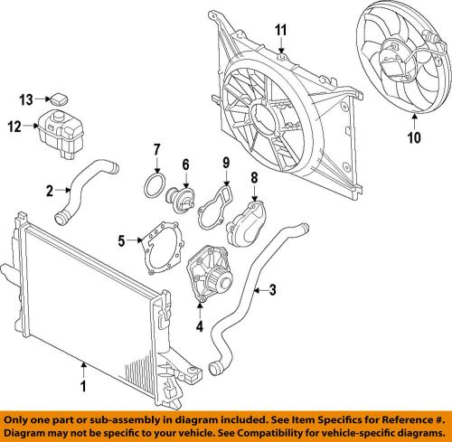 small resolution of volvo oem 10 16 xc60 engine water pump gasket 30650891 ebaydetails about volvo oem 10 16
