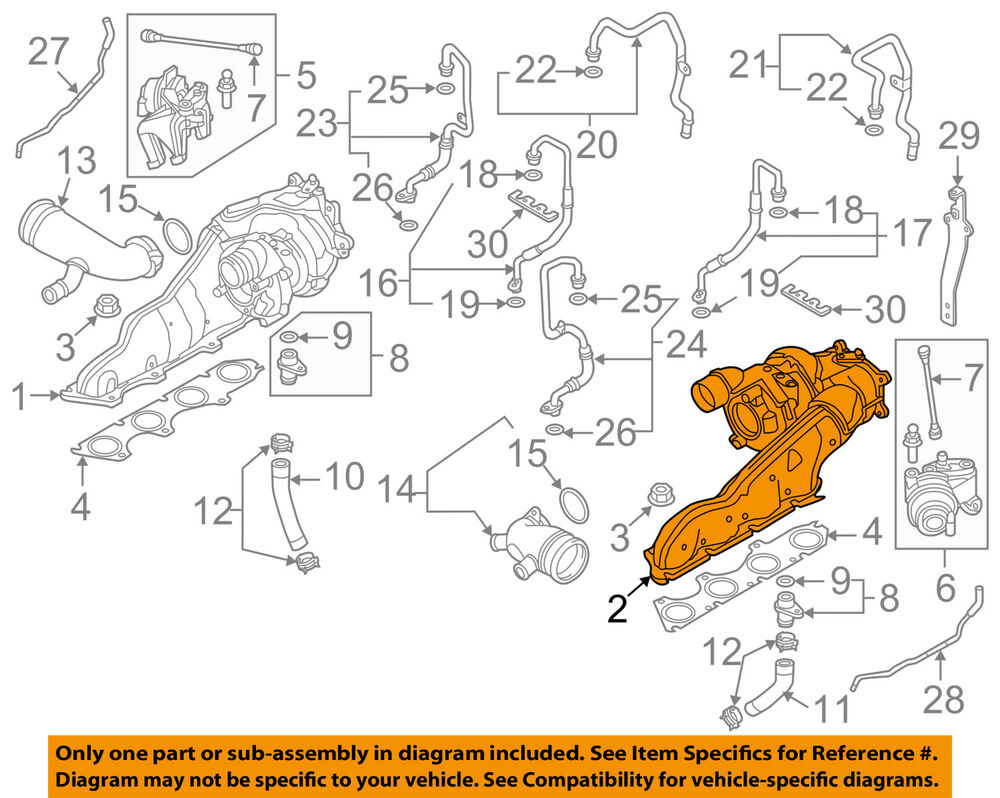 hight resolution of details about audi oem 13 16 s8 turbocharger turbo 079145721a
