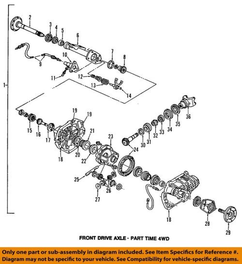 small resolution of details about gm oem front axle shift housing 12471585